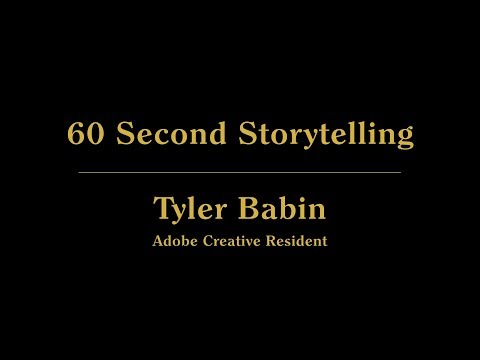 Live from 99U: 60 Second Storytelling Live with Tyler Babin