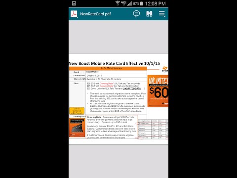 New Boost Mobile Data Plans OMG!! Must Watch (HD)