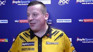 Dave Chisnall RELIEVED to progress from 'Group of Death' after just two matches