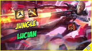 ✔ SEASON 6 LUCIAN JUNGLE - PBE Live Commentary | League of Legends