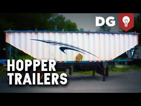 Grain Hopper Trailers Repair & Paint
