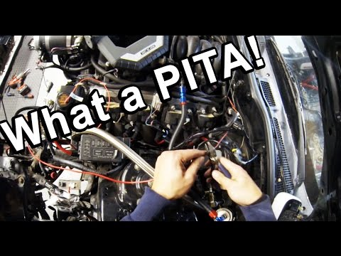 hqdefault ls6 rx7 wiring harness removal wide body v8 fd rx7 build video 1999 Ram 1500 5.2L V8 at readyjetset.co