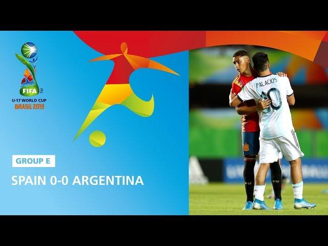 Spain v Argentina Highlights - FIFA U17 World Cup 2019 ™