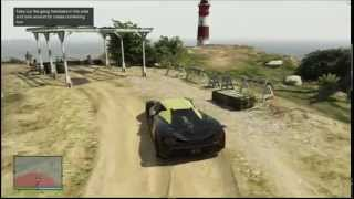 GTA Online, The Beach Bum Gang Attack - Cape Catfish - El Gordo Lighthouse. Xbox360 (HD)