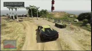 GTA Online, The Beach Bum Gang Attack - Cape Catfish - El Gordo Lighthouse. Xbox360 (HD)