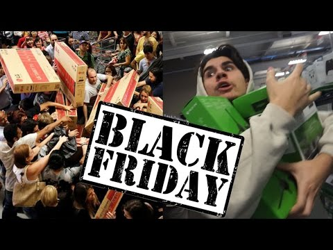 BLACK FRIDAY SHOPPING 2016! (ALMOST DIED)