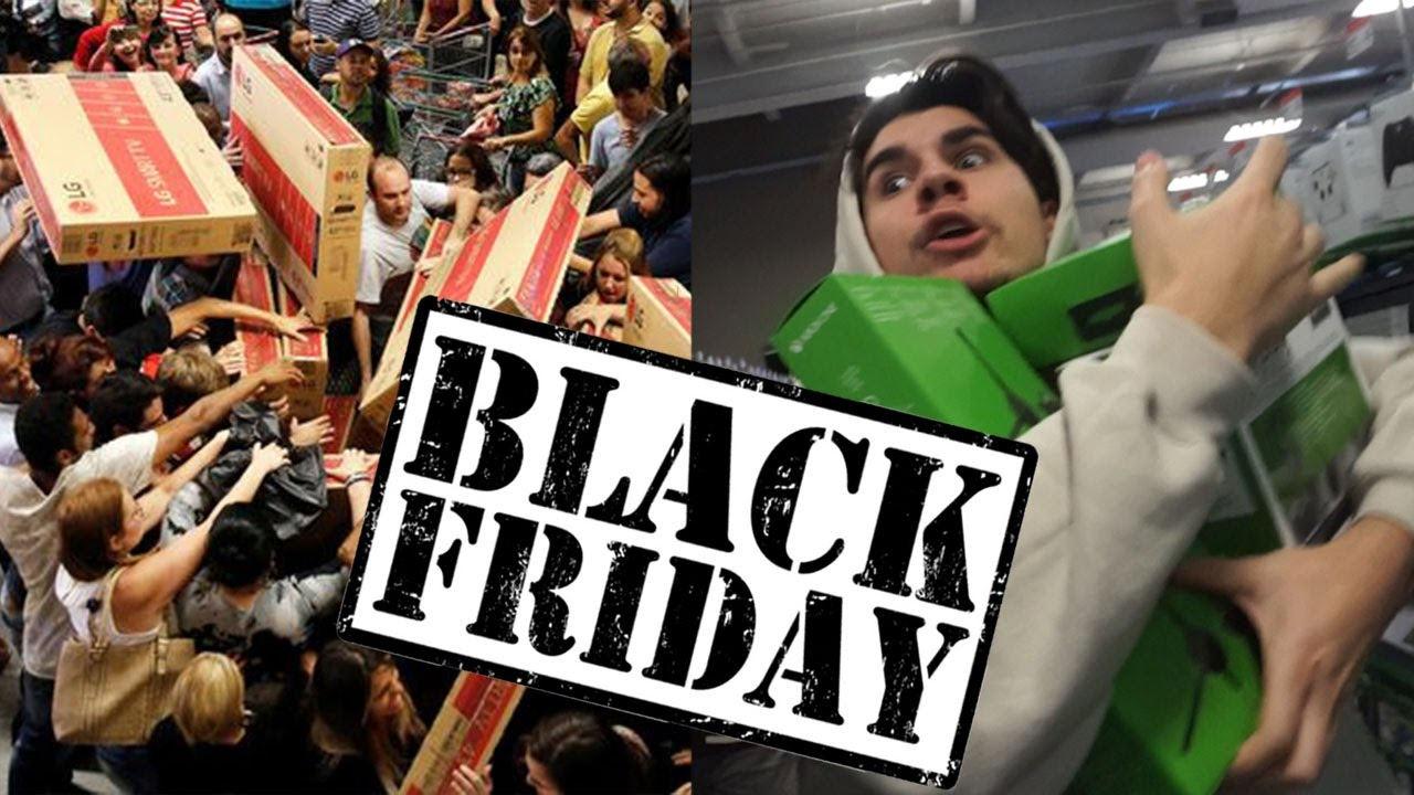 BLACK FRIDAY SHOPPING 2016! (ALMOST DIED) - YouTube