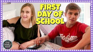 FIRST DAY OF SCHOOL - WHAT HAPPENED?! AFTER SCHOOL ROUTINE 2017