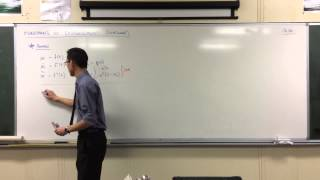 Acceleration in terms of Velocity (1 of 2: Review)