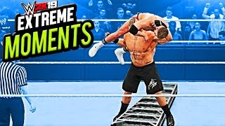 WWE 2K19 - Extreme Moments : Part # 1 || AppleMania Highlights