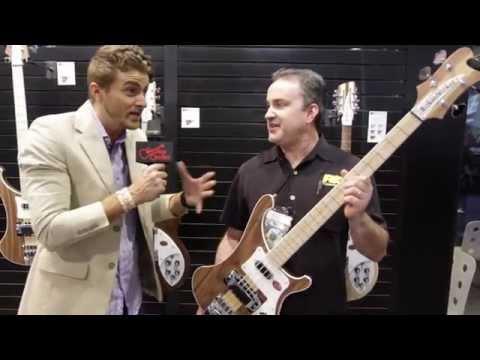 Guitar Center New From NAMM - Rickenbacker W Series Bass