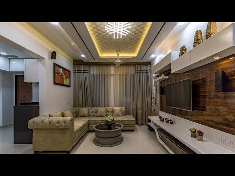 2 Bhk Flat Interior Designing For Mr Devidas Kshirsagar At Ravet Pune Kams Designer Zone Youtube