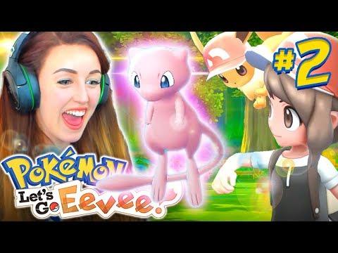 I GOT MEW?! 😱 - (Pokemon Let's Go Eevee!🐶 #2)