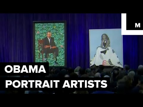 Artists Behind the Striking Obama Portraits