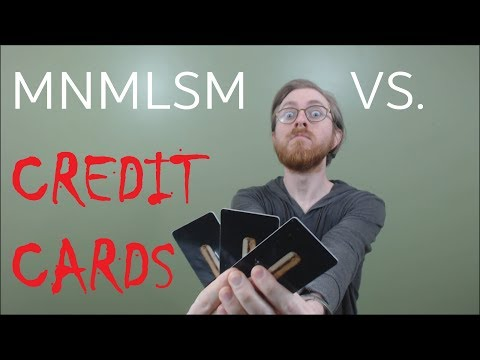SHOULD MINIMALISTS USE CREDIT CARDS?
