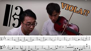 Guessing The Concerto from the VIOLA PART