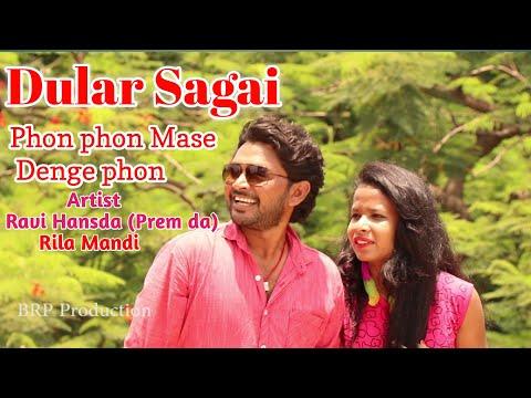 Hai Hello Mase Denge //New Santhali Full Hd Video Song 2019??Ravi Hansda&rilamala Mandi