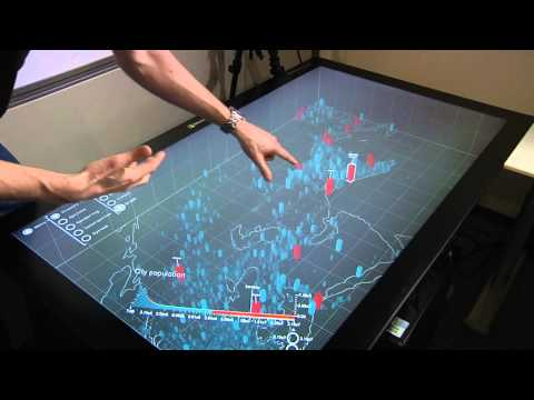 Holograph: 3-D spatiotemporal interactive data visualization