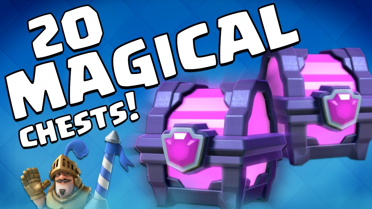 Clash Royale MAGICAL CHESTS Tips on spending GEMS in Clash