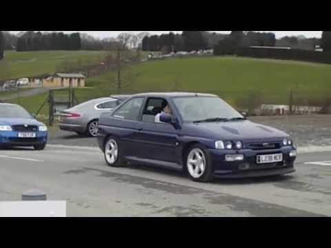 Ford Escort Cosworth at Spring Dub