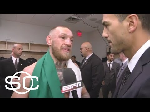 Conor McGregor's exclusive interview after losing to Floyd Mayweather | SportsCenter | ESPN