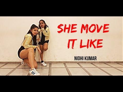 She Move It Like - Badshah | Dance Choreography | Nidhi Kumar Ft. Vaidehi