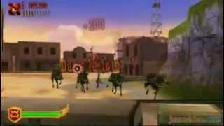 WESTERN HEROES (GUNSLINGERS) - VIDEOGAME - NINTENDO WII - INGAME FOOTAGE - 2010