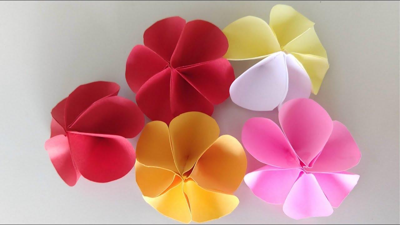 Flores de Papel Simples - DIY Fácil #1