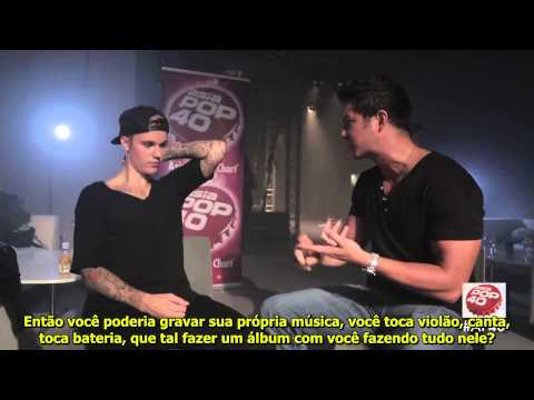 LEGENDADO: Justin Bieber para Asia Pop 40