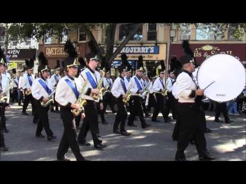 East Meadow High School Huntington's Columbus Day Parade 2015