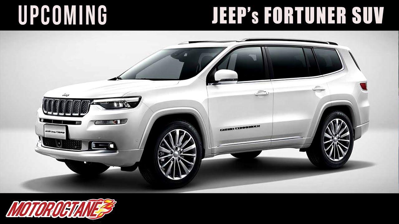 Jeep S Fortuner Suv Upcoming Hindi Motoroctane Youtube
