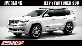 Jeep's Fortuner SUV | Upcoming | Hindi | MotorOctane