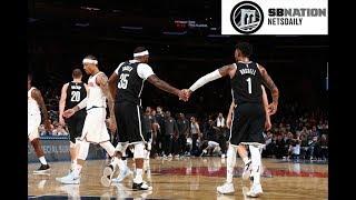 Brooklyn Nets vs New York Knicks - Full Nets Highlights - October 3, 2017 - NetsDaily.Com