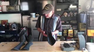 The Batsuit Creator: Creating the spats (Costume: Batman Returns)