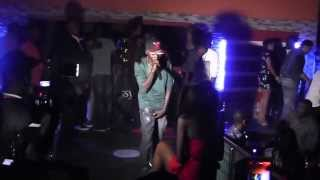 Beverly Osu in action with Teecul