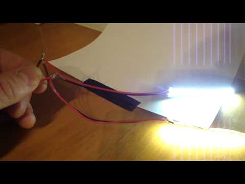 LED Lights Example: Running LED Strip Lights in Parallel
