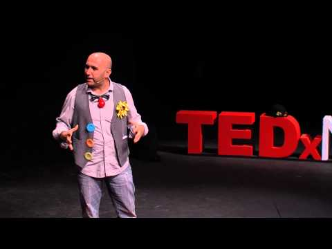 Education through drama and theater | Mohammed Awwad | TEDxN