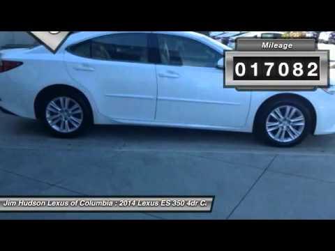 2014 Lexus ES 350 Columbia SC P4552. Jim Hudson Lexus