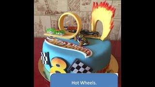 hot Wheels. Декорируем торт мастикой