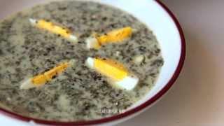 Щавелевый суп по-деревенски (Шчаўё, Polish Sorrel Soup, Szczaw po wiejsku)