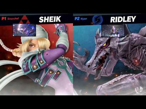 Super Smash Bros Ultimate  Shiek vs Ridley  HD Gameplay