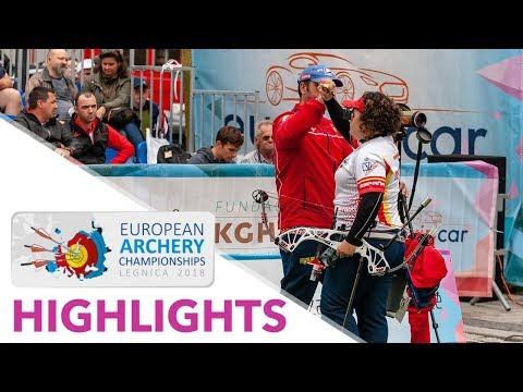 Compound highlights [ENGLISH] | Legnica 2018 World Archery European Championships