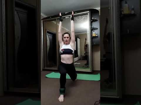 Тренировка на мышцы пресса + кардио (тренировка на пятницу)