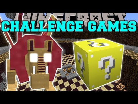 Minecraft: MANTICORE CHALLENGE GAMES - Lucky Block Mod - Modded Mini-Game