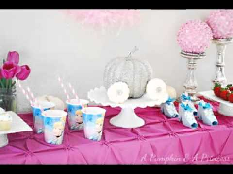 DIY Cinderella Birthday Party Decorations