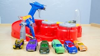 Hot Wheels Color Shifters Color Blaster Color Changers Playset