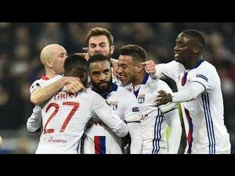 GOL DE ALEXANDRE LACAZETTE  Lyon 4 vs Roma 2  Europa League 09/03/2017