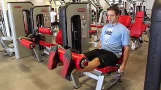 Quick Leg Machine Circuit Workout