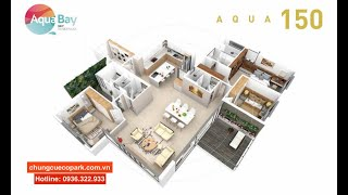 Ecopark Review | xem TẬN MẮT bàn giao căn hộ Aqua 150 - The Collection view hồ