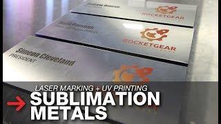 Sublimation Printing on Metal | UV Printing on Metal | Sublimation Metals